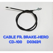 CABLE FR. BRAKE-HERO/CD-100 -D03624