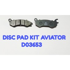 DISC PAD KIT-AVIATOR -D03653