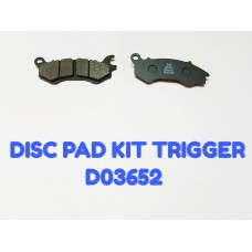DISC PAD KIT-TRIGEER -D03652