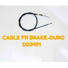 CABLE FR BRAKE-DURO -D03491