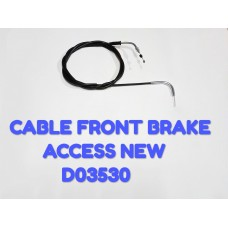 CABLE FR. BRAKE-ACCESS NEW -D03530