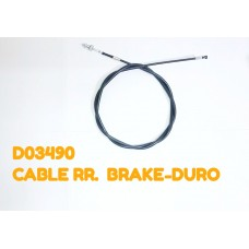 CABLE RR. BRAKE-DURO -D03490