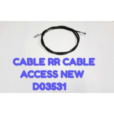 CABLE RR. BRAKE-ACCESS NEW -D03531