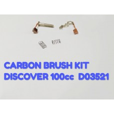 CARBON BRUSH KIT-DISCOVER 100CC -D03521
