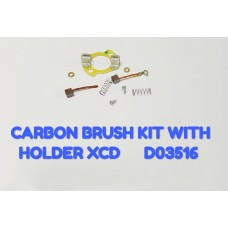 CARBON BRUSH KIT W/HOLDER-XCD -D03516