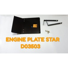 ENGINE PLATE-STAR -D03503