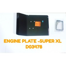 ENGINE PLATE-SUPER XL -D03478