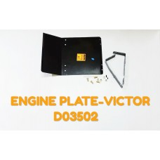 ENGINE PLATE-VICTOR -D03502