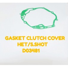 GASKET CLUTCH COVER-HET/S.SHOT -D03481