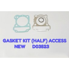 GASKET KIT (HALF)-ACCESS NEW -D03523