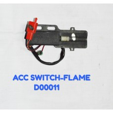 ACC SWITCH-FLAME -D00011