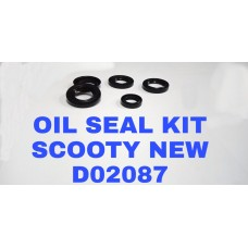 OIL SEAL KIT-SCOOTY NEW -D02087