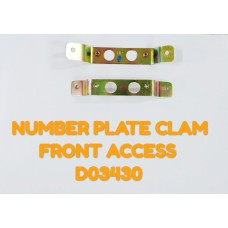 NUMBER PLATE CLAMP FR-ACCESS -D03430