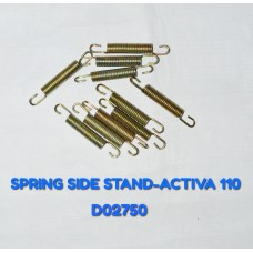 SPRING SIDE STAND-ACTIVA 110CC -D02750