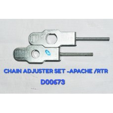 CHAIN ADJUSTER SET-APACHE/GLX/RTR -D00673