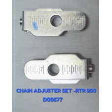 CHAIN ADJUSTER SET-RTR 200CC -D00677