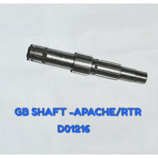 G B SHAFT-APACHE/RTR -D01216