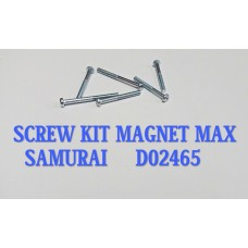 SCREW KIT MAGNET-MAX/SAMURAI -D02465